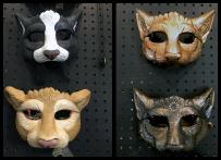 Hard Cast Masks, 4 variations