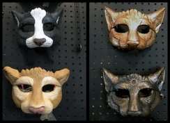 Hard Cast Masks, 4 variations