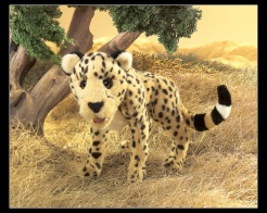 Cheetah Puppet