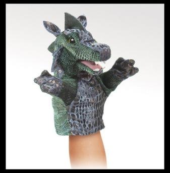 Little Dragon Puppet