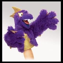 Purple Pi Monster Puppet