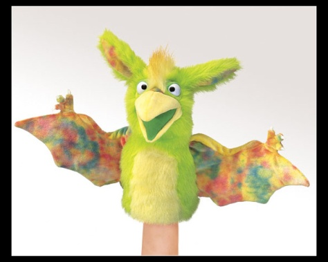 Twickety Bird Monster Puppet