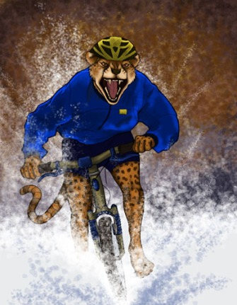 Cycling Cheetah