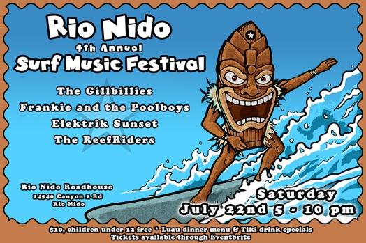 Postcard Design for Festival