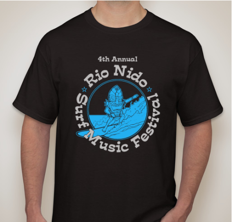 2 Color T-Shirt Design for Festival