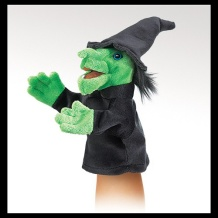 Little Witch Puppet